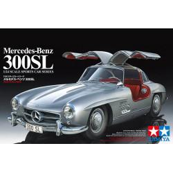 Coche Mercedes Benz 300SL. Escala 1:24. MarcaTamiya. Ref: 24338.