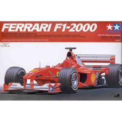 Ferrari F1-2000. Escala 1:20. Marca Tamiya. Ref: 20048.