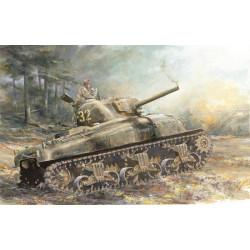 Tanque Sherman M4A1. Escala 1:72. Marca Dragon. Ref: 7568.