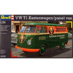 VW T1 Transporter Kastenwagen.  Escala 1:24. Marca Revell. Ref: 07076.