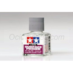 Liquid Surface Primer gris. Bote 40 ml. Marca Tamiya. Ref: 87075.