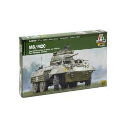 Tanque U.S. M8 / M20. Escala 1:56. Marca Italeri. Ref: 15759.