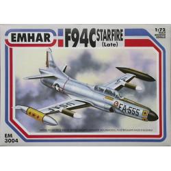 F94C Starfire ( late ). Escala 1:72. Marca Emhar. Ref: EM3004.