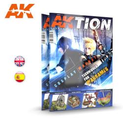 Revista AKTION Nº 2. Técnicas de wargame. Marca AK Interactive. Ref: AK6304.