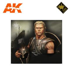Figura Achilles B.C 1200. Escala 1:10. Marca Young miniatures. Ref: YH1845.