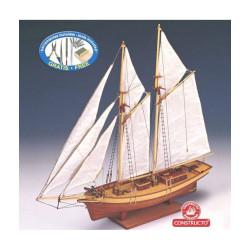 Carmen 1850, Pailebote español. Escala 1:80. Marca Constructo. Ref: 80703.