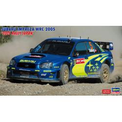 "SUBARU IMPREZA WRC 2005 ""2005 RALLY JAPAN"". Escala 1:24. Marca Hasegawa. Ref: 20353."