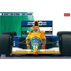 Benetton B190B 1991 Livery. Escala 1:24. Marca Hasegawa. Ref: 20356.