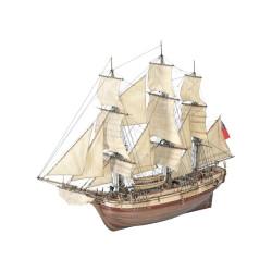 Sección Barco HMS Bounty. Escala 1:48. Marca Artesanía Latina. Ref: 22810.