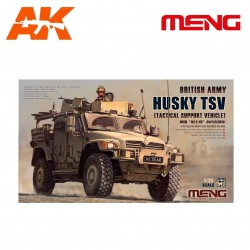 British army Husky TSV (tactical support vehicle). Escala 1:35. Marca Meng. Ref: VS-009.
