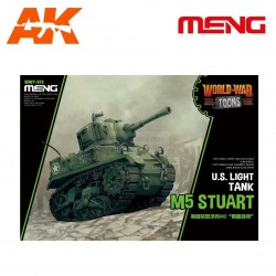 U.S. Light tank M5 Stuart. Serie world war toons. Marca Meng. Ref: WWT-012.