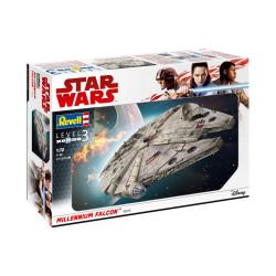 Millennium Falcon, Star Wars. Escala 1:72. Marca revell. Ref: 06718.