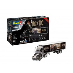 "Truck & Trailer ""AC/DC"" Limited Edition. Escala 1:32. Marca Revell. Ref: 07453."