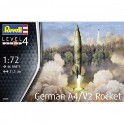 German A4/V2 Rocket. Escala 1:72. Marca Revell. Ref: 03309.