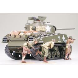 U.S. M. Tank M4A3 Sherman, 75mm GUN. Escala 1:35. Marca Tamiya. Ref: 35250.