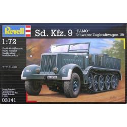 Camión Sdkfz 9 famo Alemán 18tn Half Track. Escala 1:72. Marca Revell. Ref: 03141.