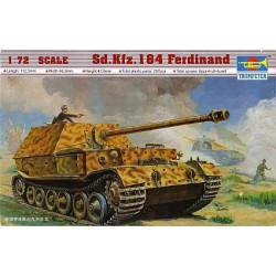 Tanque Sd.Kfz. 184 Ferdinand. Escala 1:72. Marca Trumpeter. Ref: 07205.