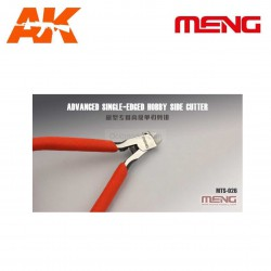 Alicate superfino para modelistas, Advanced Single-Edged Hobby Side Cutter. Marca Meng. Ref: MTS-026.