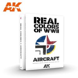 Libro de los colores reales de la WWII para aircraft. Marca AK Interactive. Ref: AK290.