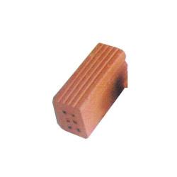 Ladrillo entero de 6 agujeros, 32 x 11 x 16mm. Bolsa 250gr. Escala 1:10. Marca Cuit. Ref: 453905-1.