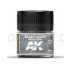 RC Air, Basaltgrau Basalt Grey. Cantidad 10 ml. Marca AK Interactive. Ref: RC212.
