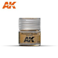 Nº6 Earth Yellow FS 30257. Cantidad 10 ml. Marca AK Interactive. Ref: RC030.
