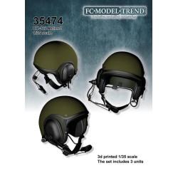 DH-132 helmet. Escala 1:35. Marca FCmodeltrend. Ref: 35574.