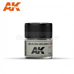RC Air, IJN J3 HAI-IRO ( grey ). Cantidad 10 ml. Marca AK Interactive. Ref: RC302.