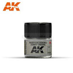 RC Air, Hairyokushoku (Grey-Green). Cantidad 10 ml. Marca AK Interactive. Ref: RC328.