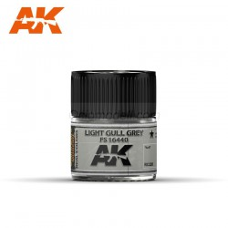 RC Air, Light Gull Grey FS 16440. Cantidad 10 ml. Marca AK Interactive. Ref: RC220.