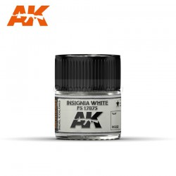 RC Air, Insignia White FS 17875. Cantidad 10 ml. Marca AK Interactive. Ref: RC222.