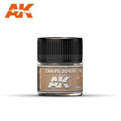 RC Air, Tan FS 20400. Cantidad 10 ml. Marca AK Interactive. Ref: RC223.
