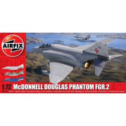 Set Caza McDonnell Douglas Phantom FGR.2. Escala 1:72. Marca Airfix. Ref: A06017.