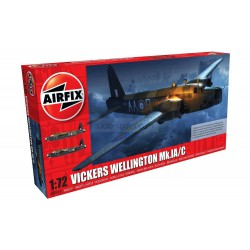 Set Vickers Wellington Mk.IA/C. Escala 1:72. Marca Airfix. Ref: A08019.