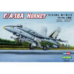 "Caza F/A-18A ""HORNET"". Escala 1:48. Marca Hobby boss. Ref: 80320."