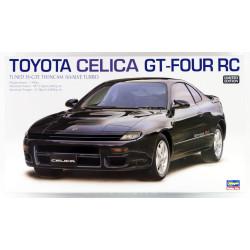 Toyota Celica GT-Four RC. Escala 1:24. Marca Hasegawa. Ref: 20255.