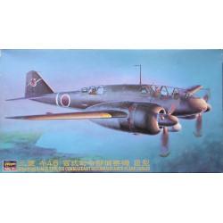 Mitsubishi Ki-46 III Type 100, Commandant Reconnaisance-Plane (Dinah). Escala 1:72. Marca Hasegawa. Ref: 51206.