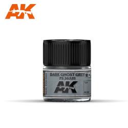 RC Air, Dark Ghost Grey FS 36320. Cantidad 10 ml. Marca AK Interactive. Ref: RC251.