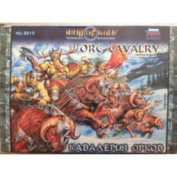 Orc Cavalry, Ring of Rule. En 28 mm. Marca Zvezda. Ref: 8819.