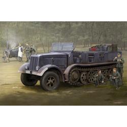 Sd.Kfz.8 (DB9), Half-Track Artillery Tractor. Escala 1:35. Marca Trumpeter. Ref: 09538.