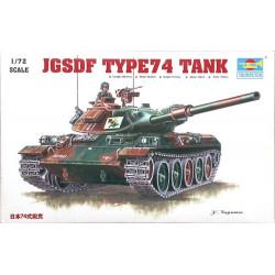 Tanque JGSDF Type74, panzer. Escala 1:72. Marca Trumpeter. Ref: 07218.