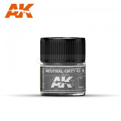 RC Air, Neutral Grey 43. Cantidad 10 ml. Marca AK Interactive. Ref: RC261.