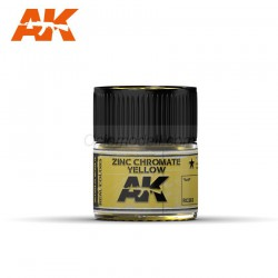 RC Air, Zinc Chromate Yellow . Cantidad 10 ml. Marca AK Interactive. Ref: RC263.