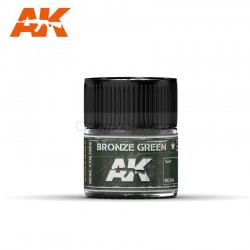 RC Air, Bronze Green. Cantidad 10 ml. Marca AK Interactive. Ref: RC264.