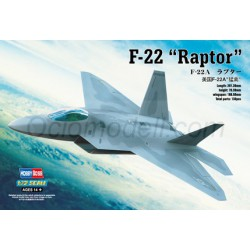 """F-22A """"Raptor"""". Escala 1:72. Marca Hobby boss. Ref: 80210."""