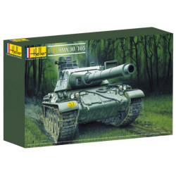 AMX 30/105. Escala 1:35. Marca Heller. Ref: 81137.