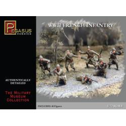 Infantería Francesa de la WWII. Escala 1:72. Marca Pegasus. Ref: PG7306.