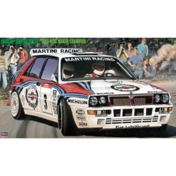 Lancia Super Delta HF Integrale Martini Racing - Rally Tour de Corse 1992. Escala 1:24. Marca Hasegawa. Ref: 25015.