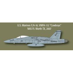 F/A-18/CF-18 Hornet. Escala 1:72. Marca Minicraft. Ref: 11652.