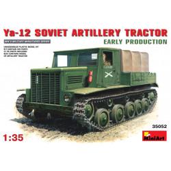 Soviet artillery tractor Ya-12. Escala 1:35. Marca Miniart. Ref: 35052.
